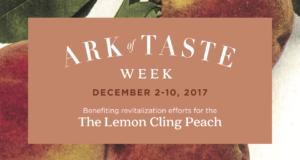 Ark of Taste 2017 Banner